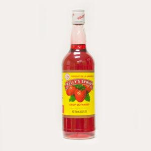 Kelly's 25.6 oz. Strawberry Syrup-0