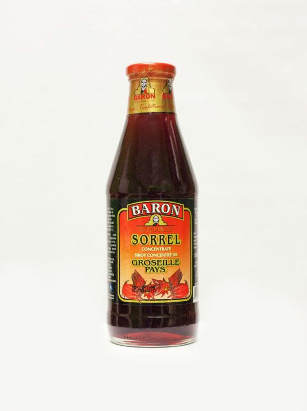 Baron 26 oz sorrel syrup-0