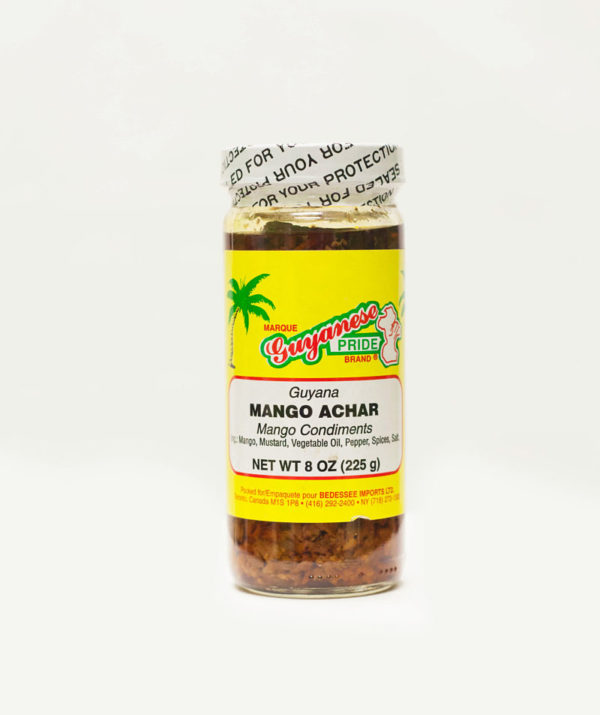 Guyanese Pride (8 oz) Mango Achar-0
