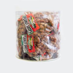 Jamaican Pride Peanut drops ( 3 lb case) - 17 pieces per case-0